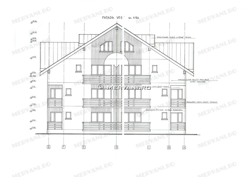 Propunere: Spatiu Turistic sau Complex rezidential cu apartamente de vacanta in Sinaia, zona Furnica, Sinaia – Proiect imobiliar in Sinaia cu apartamente de vacanta.