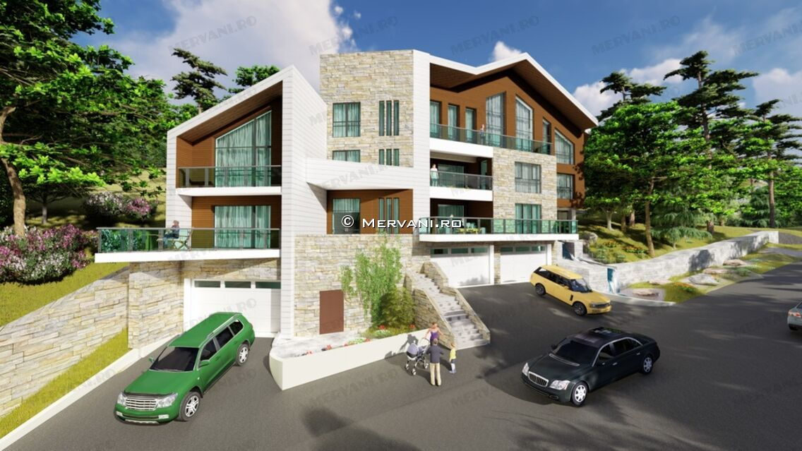 Proiectul imobiliar Mountain Luxury Lodging Sinaia din Sinaia