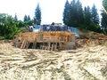 Stadiul lucrarilor pe 27.06.2016 la proiectul imobiliar Cioplea Best View din Predeal. Fundatie plus primul nivel de elevatie. (Fotografia 7)