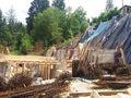 Stadiul lucrarilor pe 27.06.2016 la proiectul imobiliar Cioplea Best View din Predeal. Fundatie plus primul nivel de elevatie. (Fotografia 10)