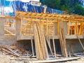 Stadiul lucrarilor pe 27.06.2016 la proiectul imobiliar Cioplea Best View din Predeal. Fundatie plus primul nivel de elevatie. (Fotografia 14)