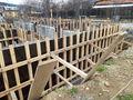 Stadiul lucrarilor pe 25.04.2019 la proiectul imobiliar Sunny view Busteni din Busteni. Fundatie + elevatie demisol. (Fotografia 2)