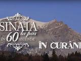 Sinaia la pas in 60 de secunde - Premiera pentru Romania: o carte despre un oras a inspirat un film!