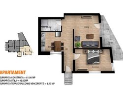 Apartament de Vanzare in Sinaia (Deosebita, Prahova)